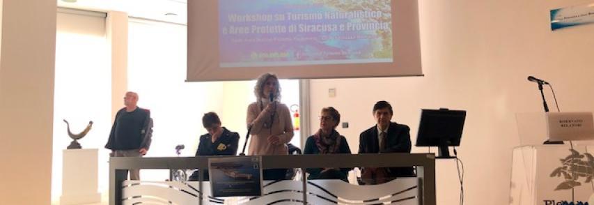 Ieri Workshop su turismo naturalistico e Aree Protette di Siracusa e provincia