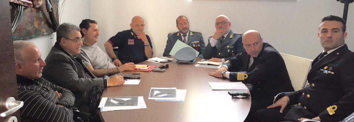 """Vertice delle forze dell'ordine al Consorzio Plemmirio """"Potenziare i controlli in Area Marina Protetta"""""""
