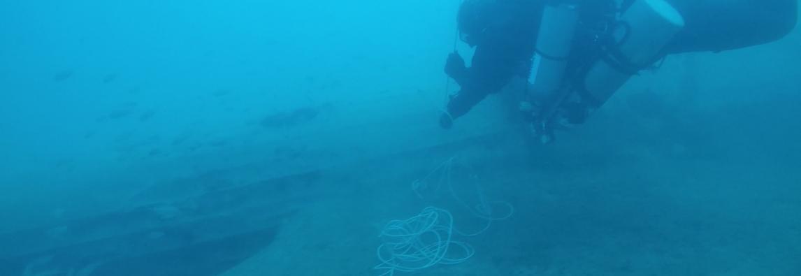 Ritrovamento relitto di idrovolante nel mare del Plemmirio